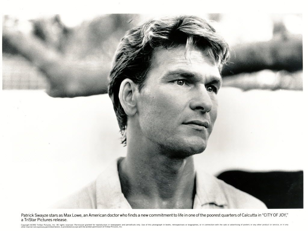 Patrick Swayze starred in City of Joy