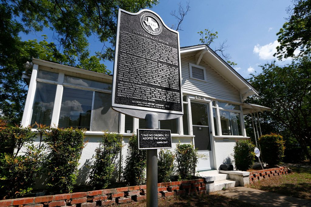 The Juanita Craft House in South Dallas was the home of the late civil-rights activist and former City Council member. Jimmy Carter, Martin Luther King Jr., Thurgood Marshall and LBJ were visitors.
