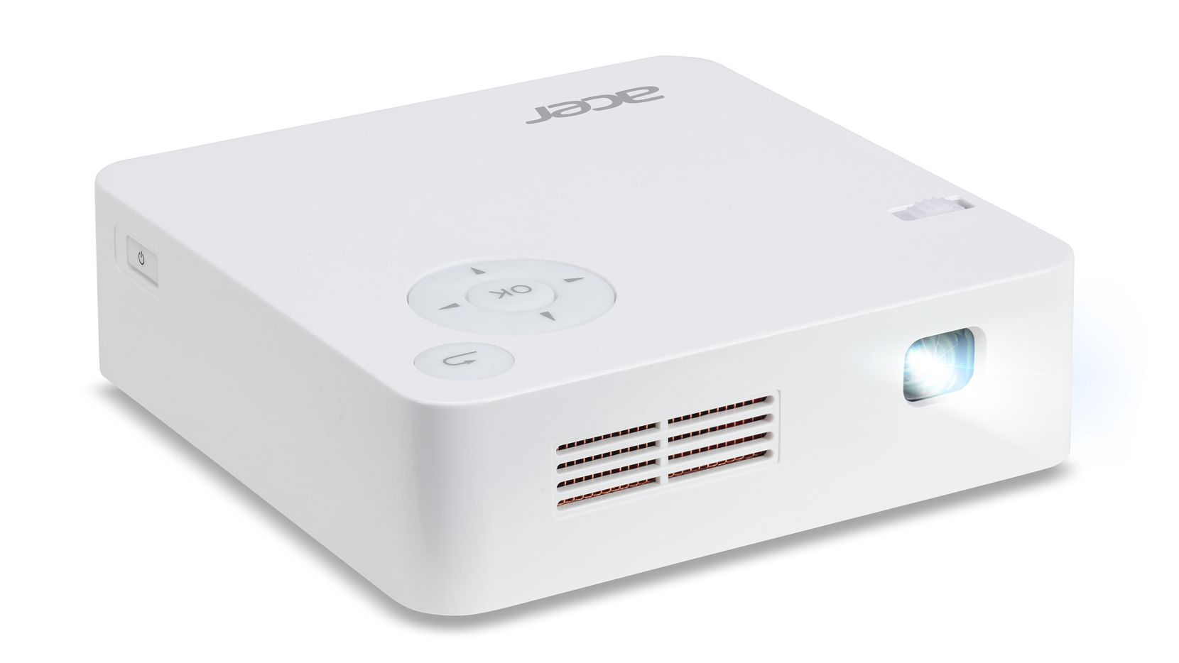 The Acer C202i Portable LED projector