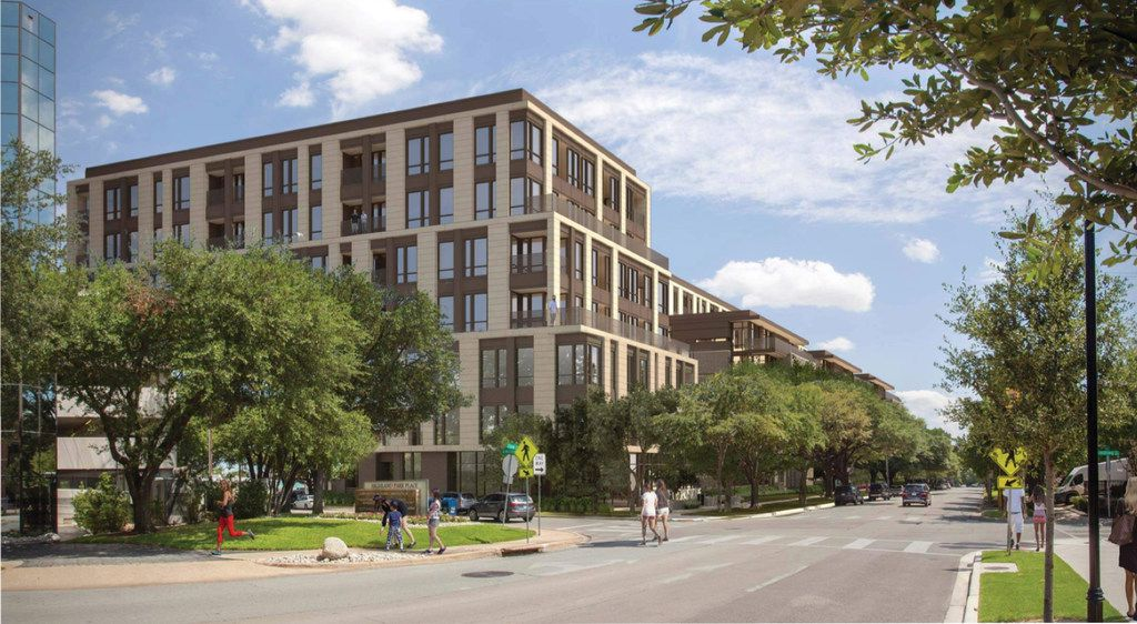 Alliance Residential plans to set aside 10 percent of its new apartments near Knox Street as affordable units.