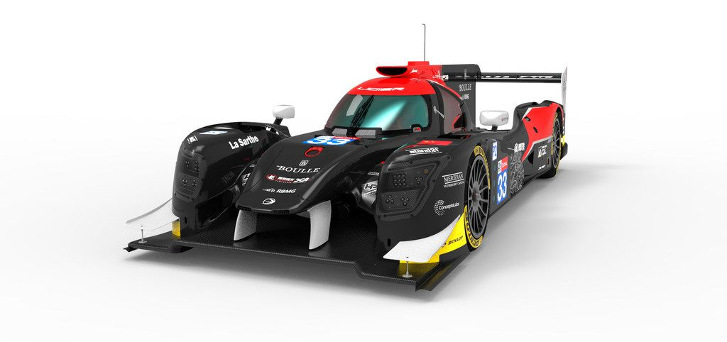 This LMP2, which stands for Le Mans Prototype 2