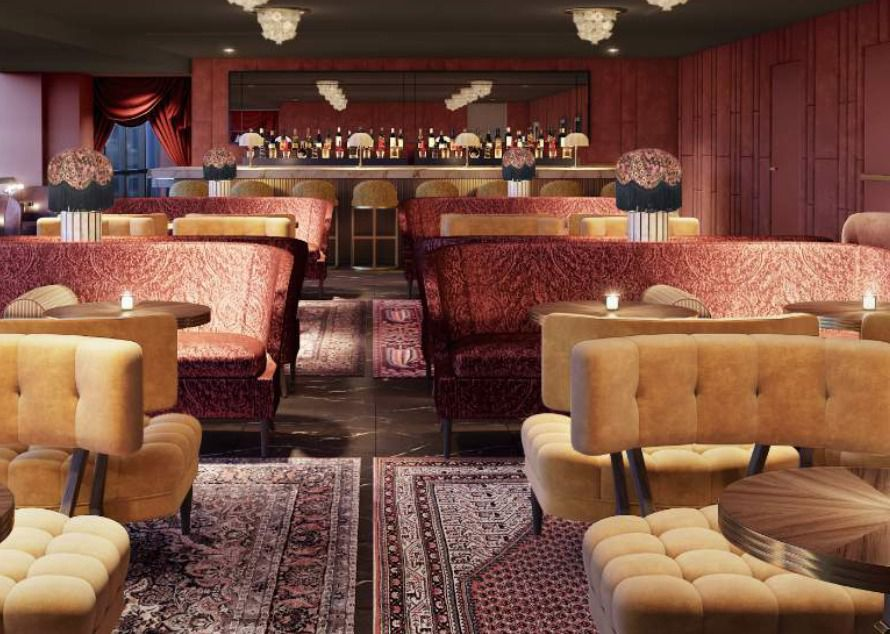 Kessaku, a sushi lounge, will open on the 50th floor of The National in downtown Dallas in 2021.