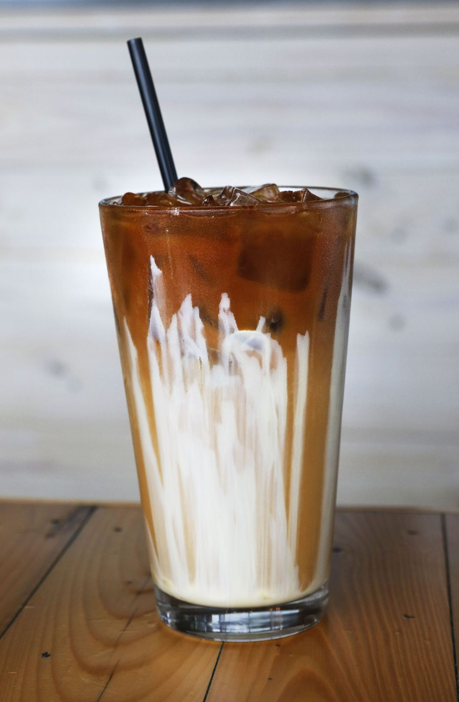 This glass of Vietnamese iced coffee at Toasted Coffee + Kitchen was photographed in 2017.
