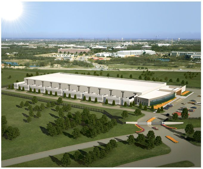 Skybox Datacenters' new Plano project will start with 150,000 square feet. (Skybox)