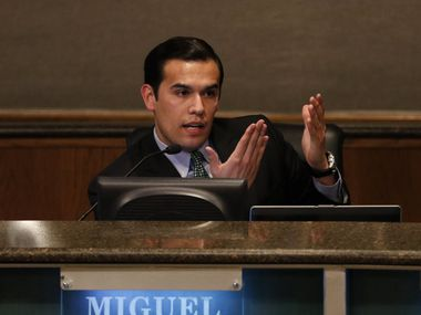 Dallas school trustee Miguel Solis wants the district to adopt a more progressive approach to school discipline.