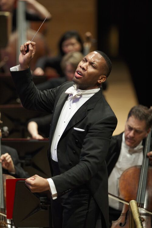 """It was only until quite late, I think maybe high school or college, that classical music really began to speak to me,"" says Roderick Cox."