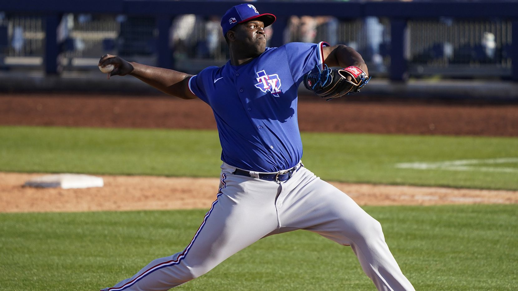 Rangers RHP Demarcus Evans (lat muscle strain) unlikely to be ready for start of season