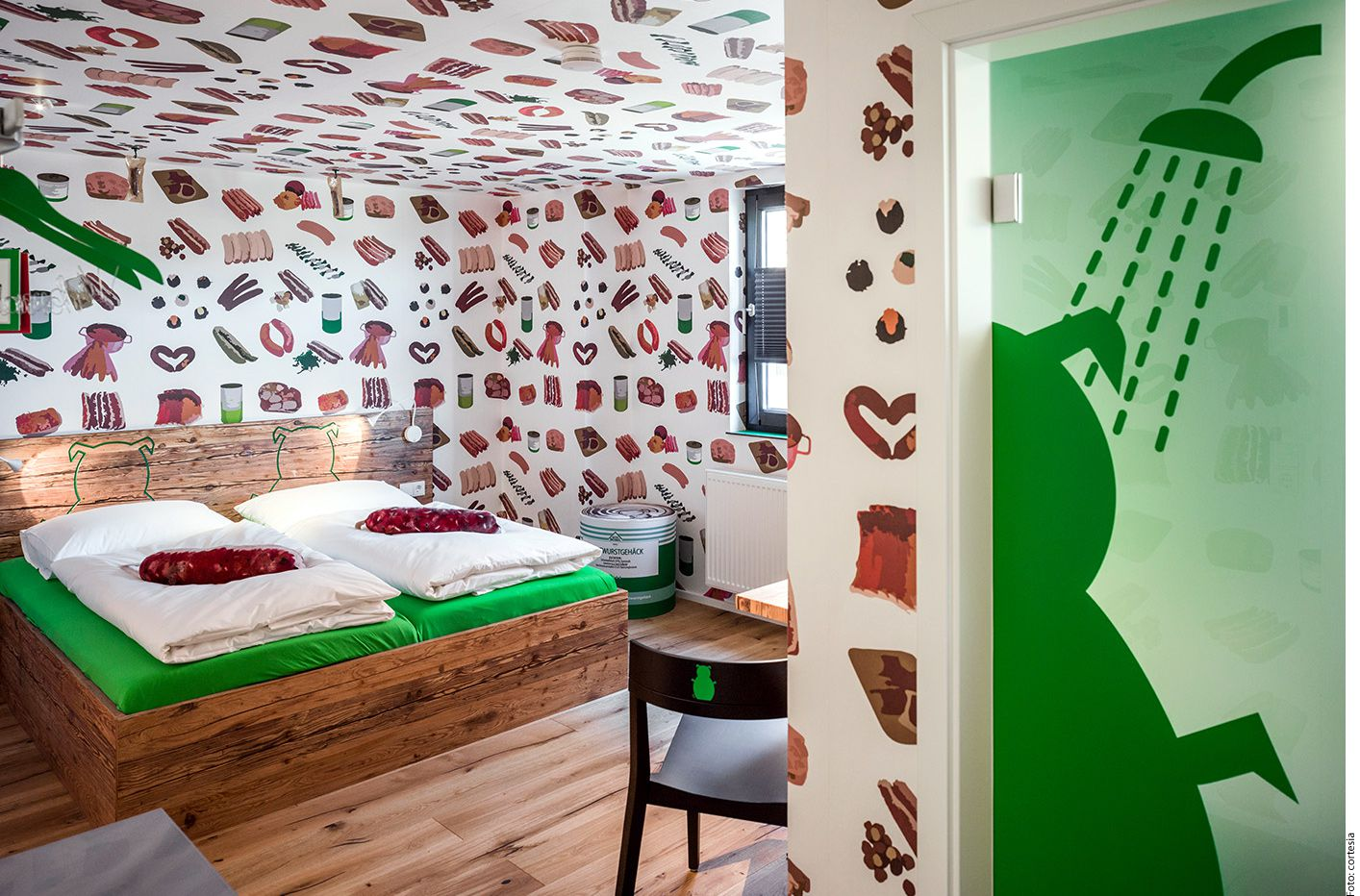 El BB&BB es un pequeño hotel, de sólo siete habitaciones, que se encuentra en la localidad alemana de Rittersbach. (AGENCIA REFORMA)