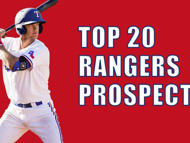 Evan Grant's No. 1 prospect in the Rangers' minor league system -- third baseman Josh Jung.