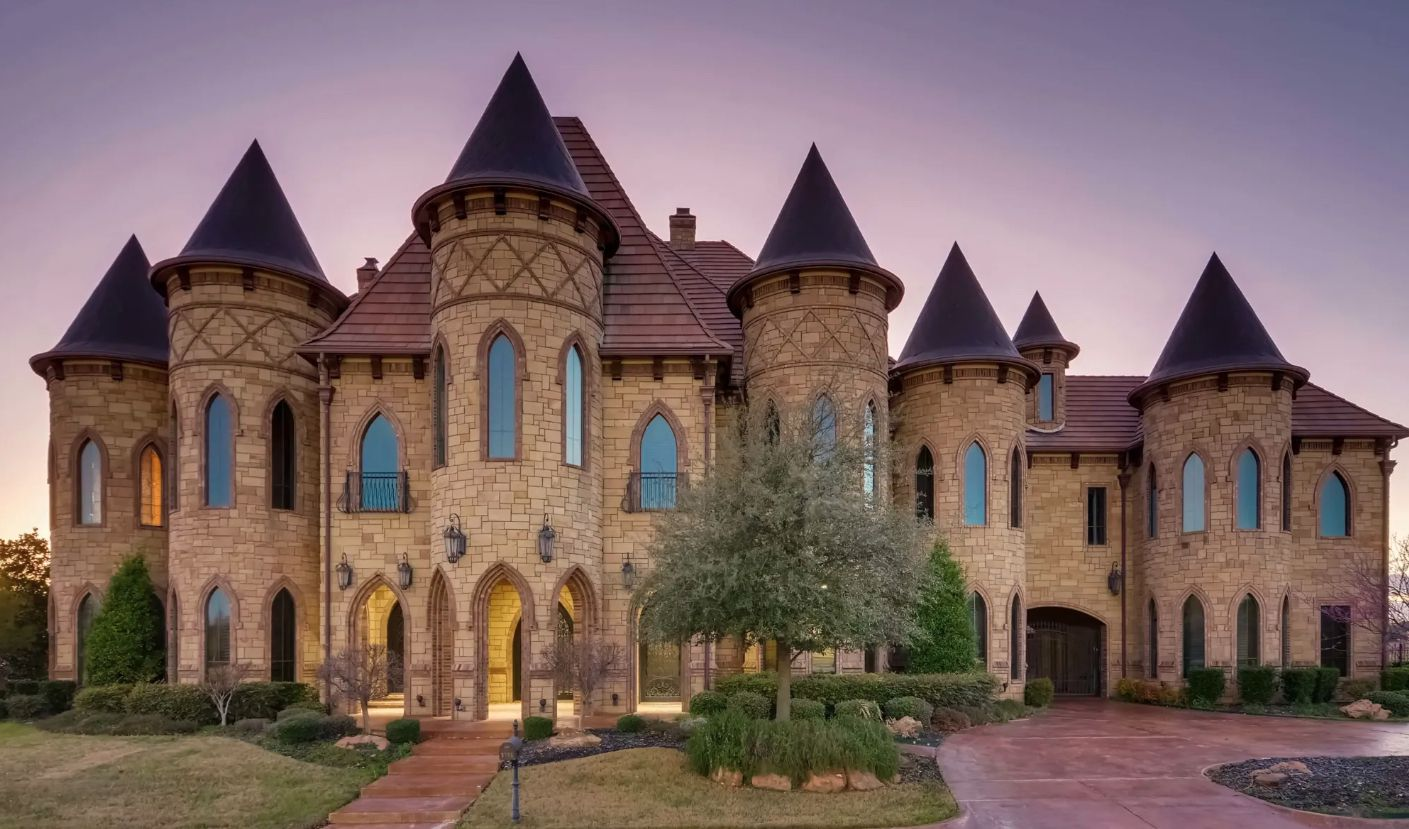 The almost 20,000-square-foot Southlake mansion will be sold at auction later this month.