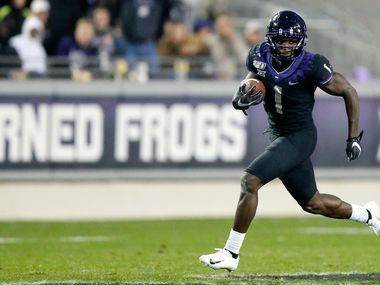 Jalen Reagor should expect to be a first round pick in the NFL draft. (Tom Fox/The Dallas Morning News)