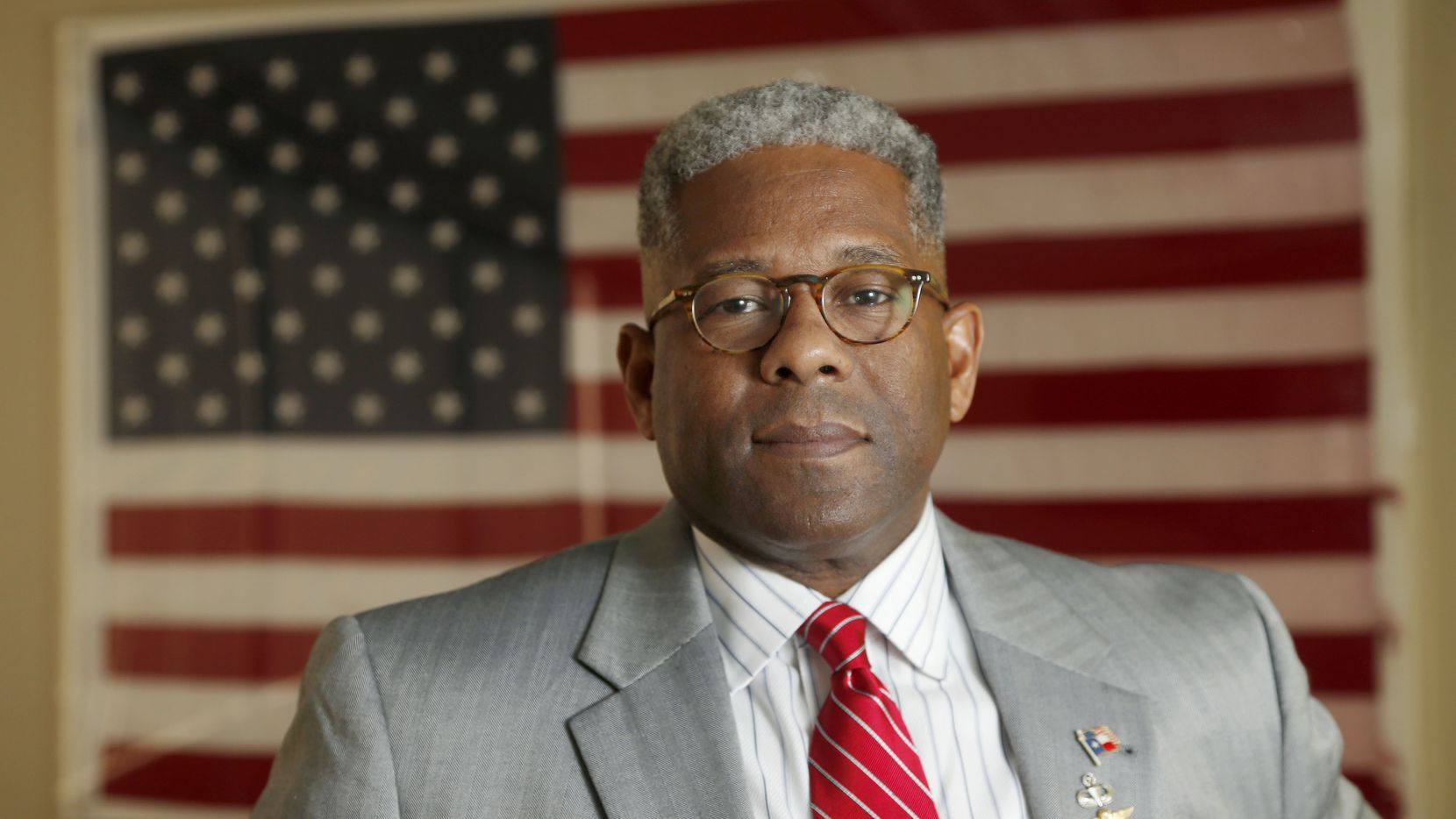 Allen West, the new CEO of the National Center for Policy Analysis at their offices in Dallas, on May 11, 2015. (Michael Ainsworth/The Dallas Morning News)
