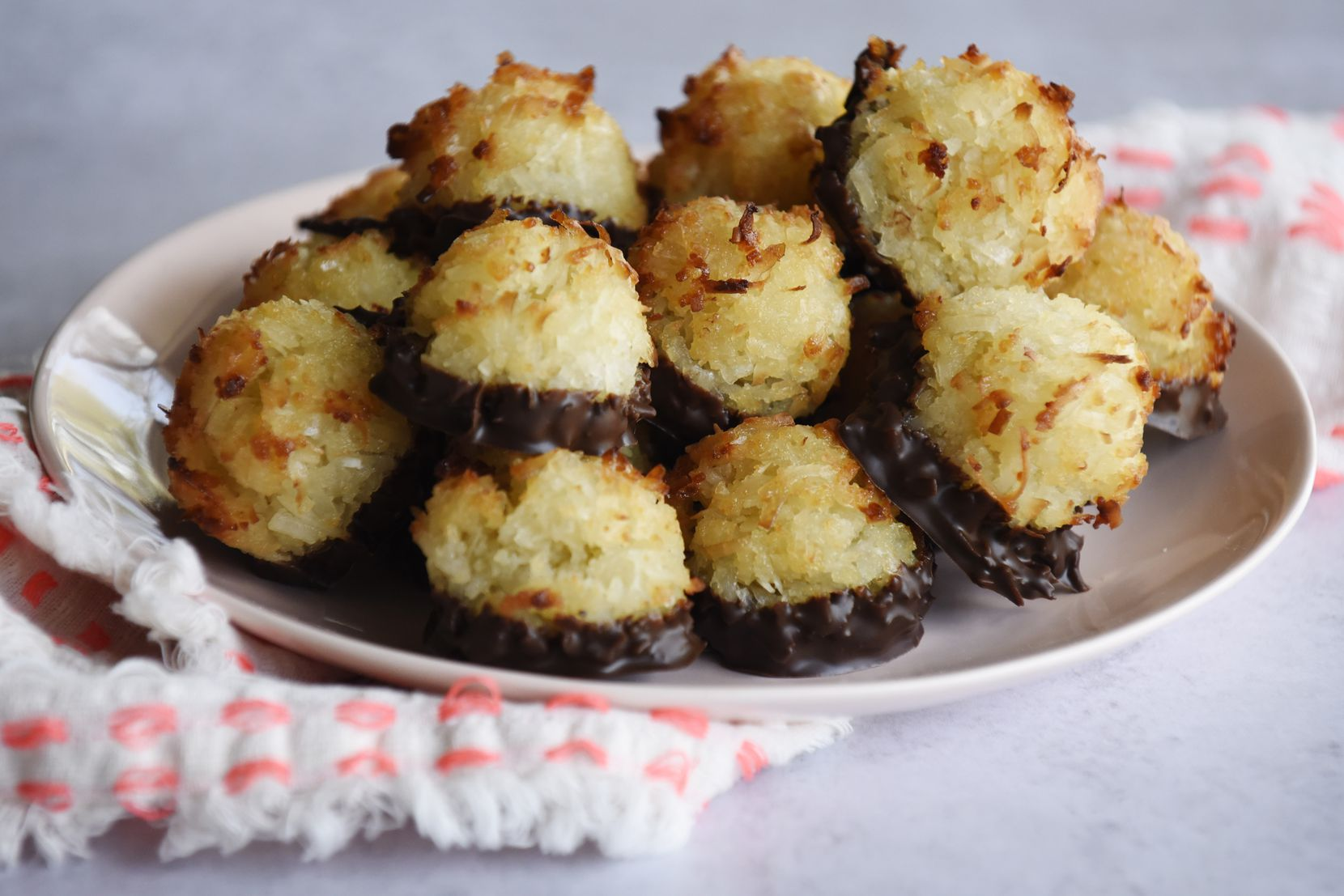 Coconut macaroons, from Kristen Massad, at her home in Dallas, March 11, 2020. Ben Torres/Special Contributor