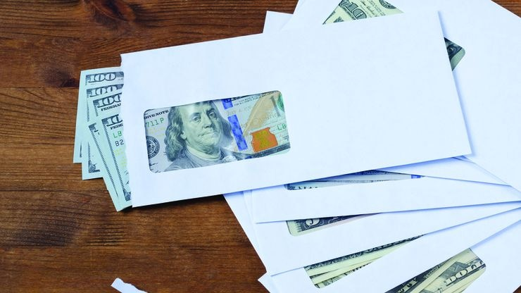Overpayment letters includes instructions for dealing with the situation.