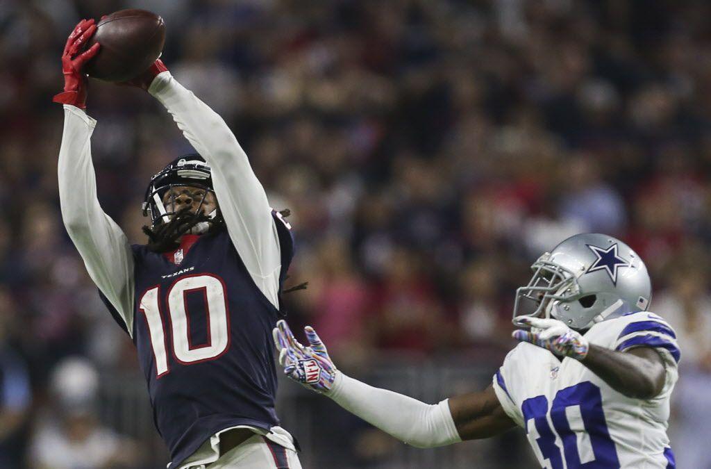 DeAndre Hopkins de los Houston Texans (10). (Ryan Michalesko/The Dallas Morning News)