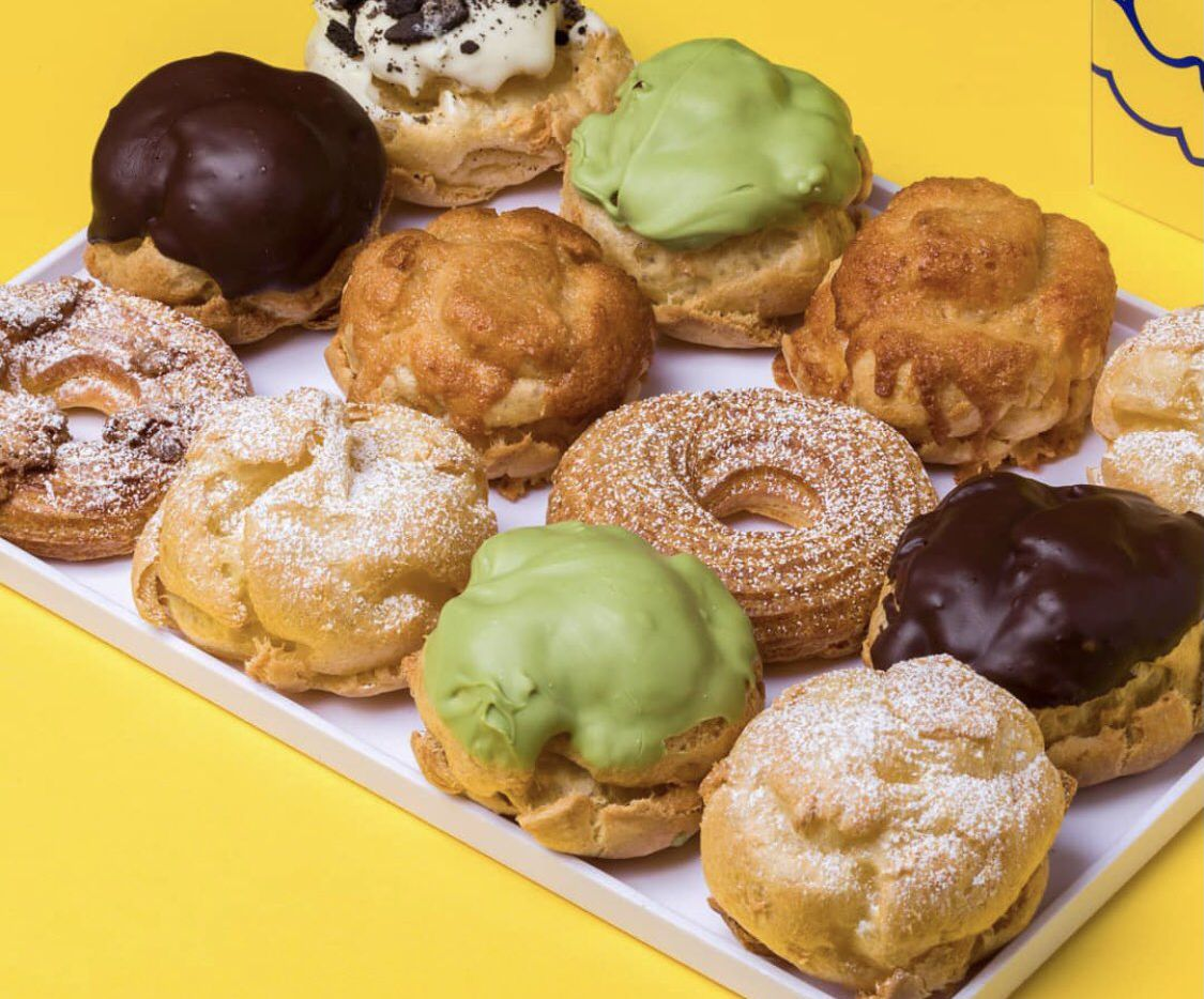 Beard Papa is holding a soft opening this week at its location inside Asia Times Square in Grand Prairie.