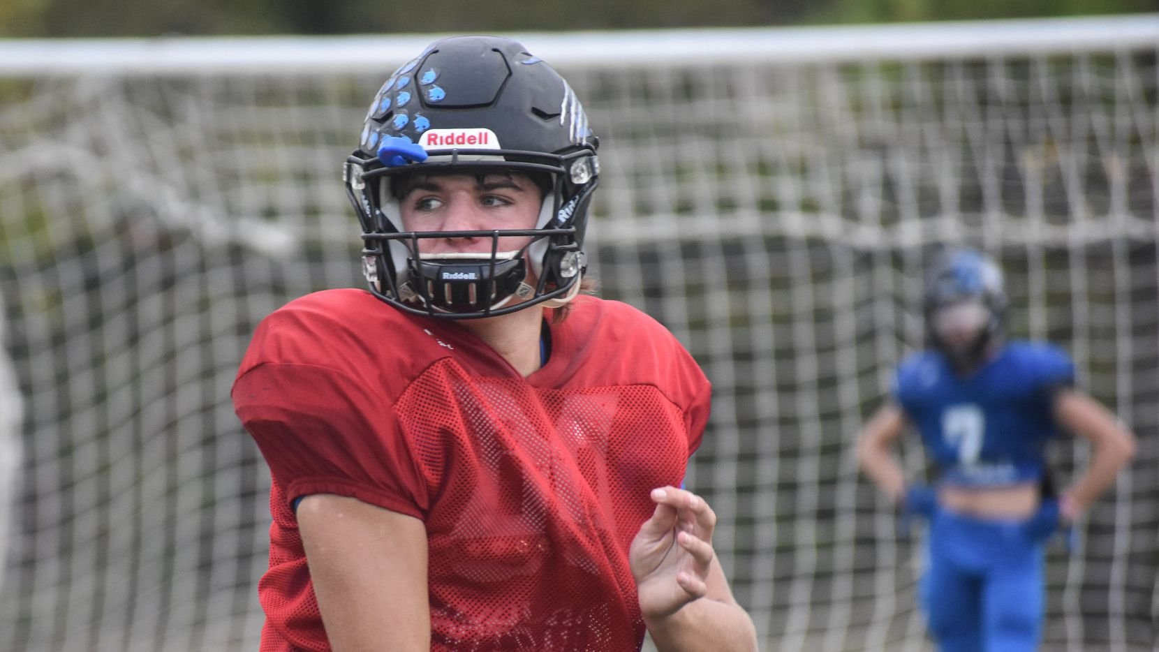 Byron Nelson junior Jake Wilson leads all area 6A quarterbacks through seven weeks with 2,157 passing yards.