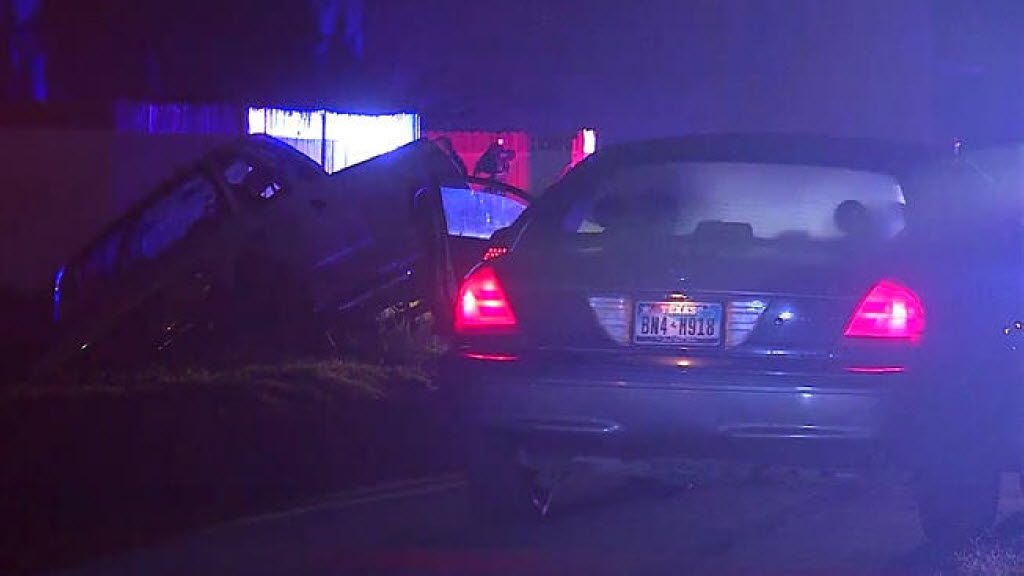 Police say a man was shot in the shoulder and a woman was shot in the back early Monday in Forest Hill.