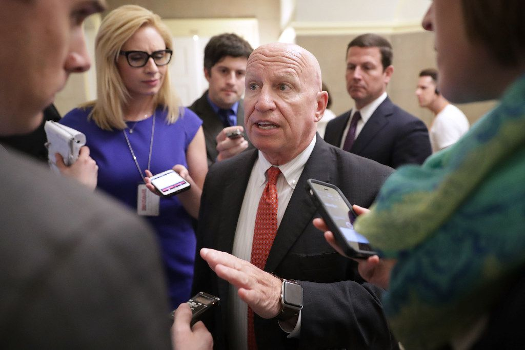 House Ways and Means Committee Chairman Kevin Brady (R-TX) has lead the charge on the GOP's push for a tax overhaul.  (Photo by Chip Somodevilla/Getty Images)