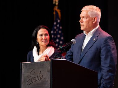 """Rep. Pete Sessions, R-Dallas, said it """"required an incredible amount of money and an overwhelming sense of mischaracterization"""" for him to lose in November to Democrat Colin Allred.. (AP Photo/Jeffrey McWhorter)"""