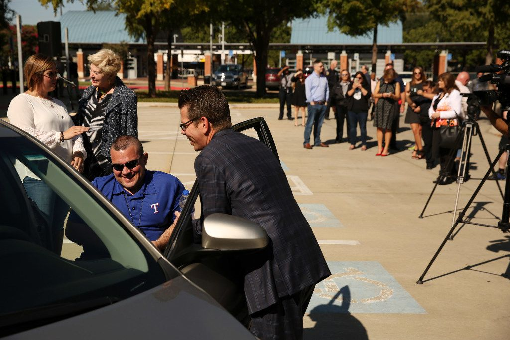 Toyota Of Rockwall >> Paralyzed DART detective takes the wheel, reclaims his independence with custom car