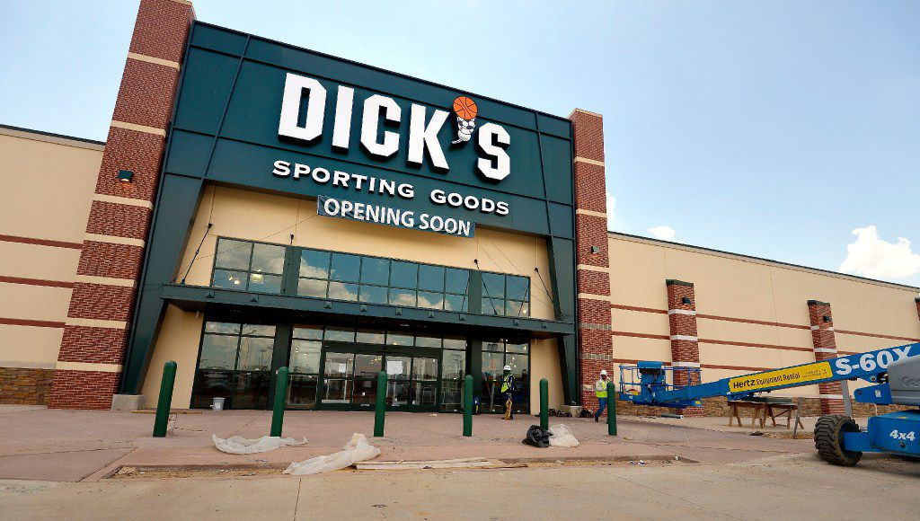 Dick's Sporting Goods has 10 locations in the Dallas-Fort Worth area.