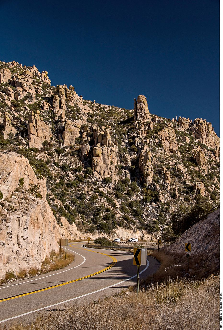 A lo largo de la Ruta 66, de unos 4 mil kilómetros de extensión, se observan maravillosos paisajes y largos tramos que evocan al infinito.