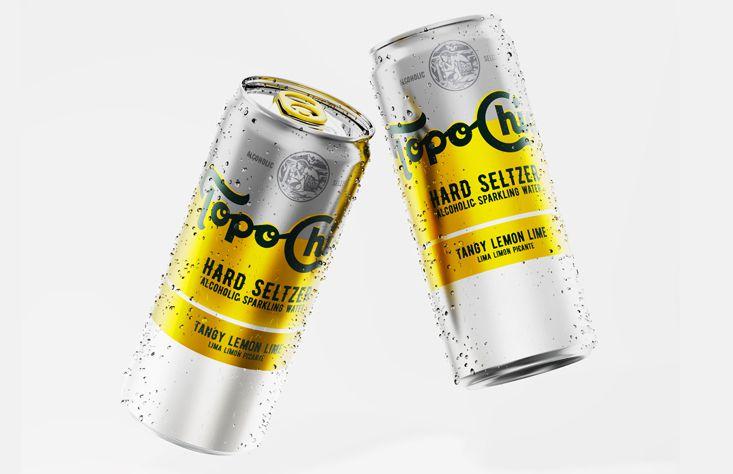 La versión de Topo Chico con alcohol que Coca Cola lanzará a partir de 2021.