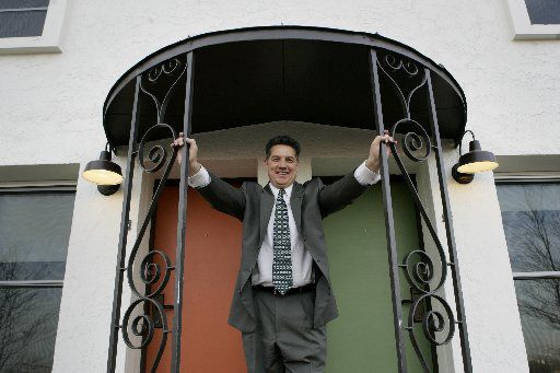 Monte Anderson in 2005, as he prepared to reopen the Belmont Hotel on Fort Worth Avenue.
