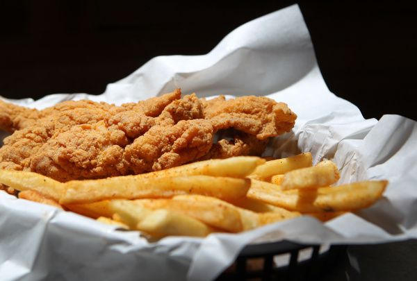 A catfish basket at Wicked Po'Boys in Richardson, if you want to range farther afield for your fried fish.
