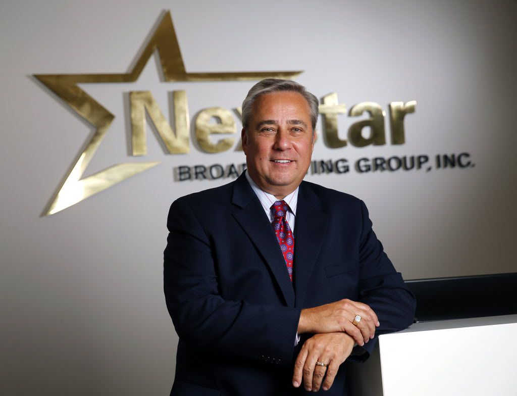 Perry Sook, president and CEO of Nexstar Broadcasting Group Inc., is pictured at their Irving offices. Nexstar Media Group's purchase of Tribune Media Co's 42 TV stations makes Nexstar the nation's largest local TV station owner.
