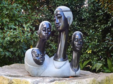 """The Dallas Arboretum's Summer of Sculpture features """"ZimSculpt,"""" featuring the works of contemporary Zimbabwean artists. It kicks off with the  Black Heritage Celebration on May 1."""