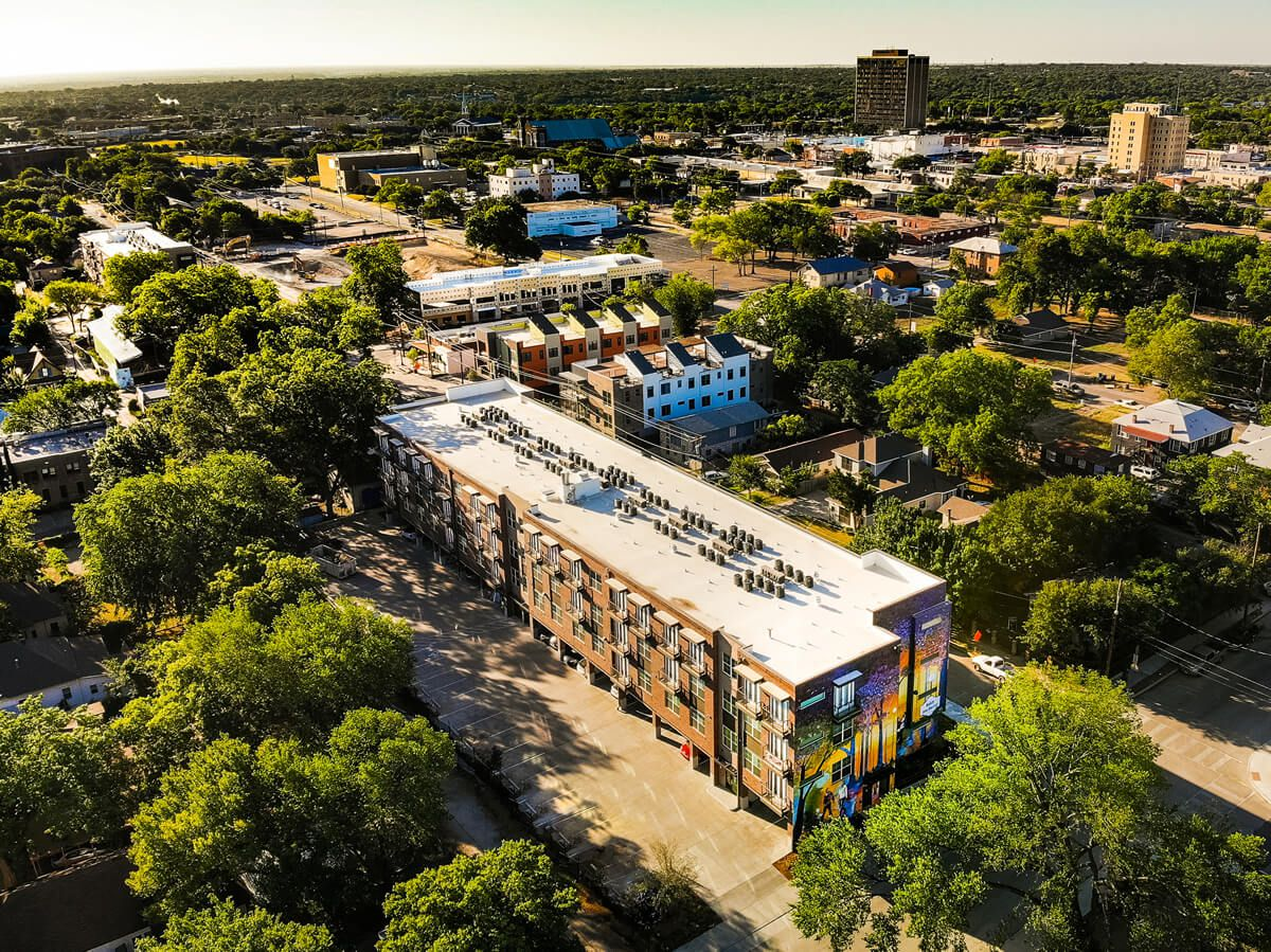 Urban Genesis' Dallas projects include the Bishop Highline apartments in North Oak Cliff.