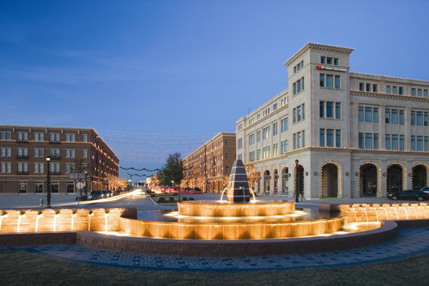 Frisco Square is a more than 20-year-old mixed-use development at Main Street and the Dallas North Tollway.