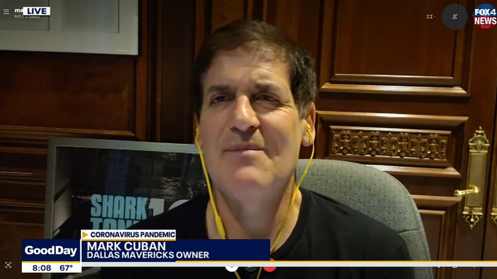 Mark Cuban joined Fox 4's Good Day to give his perspective on the reopening of the Texas economy during the coronavirus pandemic.