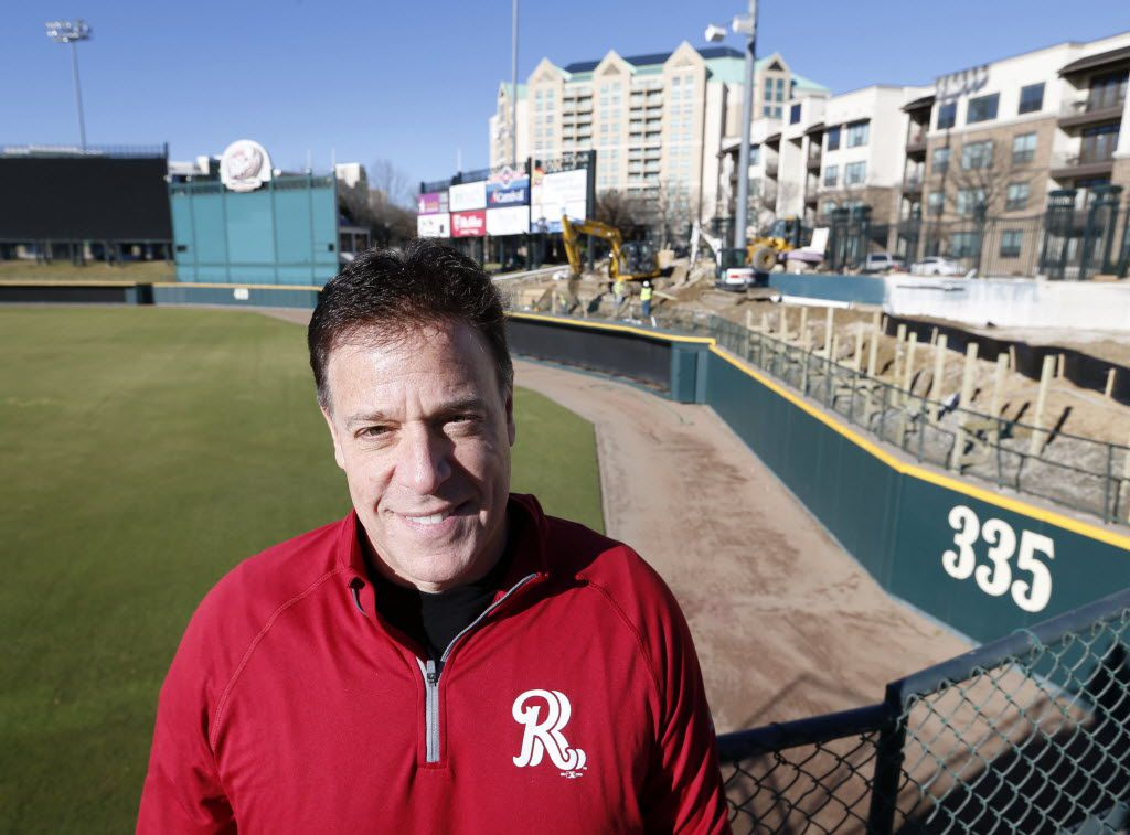 "Frisco Roughriders CEO and managing partner Chuck Greenberg says he's gotten a great response nationally about the lazy river idea. ""We may really be on to something special,"" he says. (Vernon Bryant/Staff Photographer)"