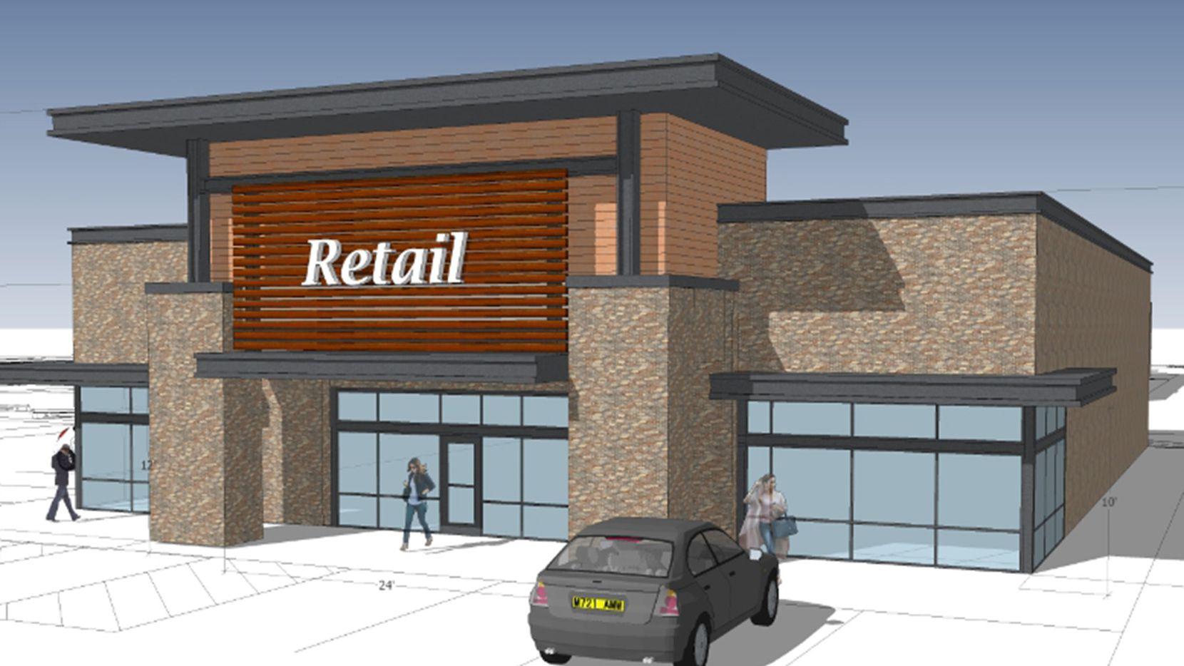 The Shadow Creek Crossing shopping center estará ubicado sobre Cartwright Road y Faithon Lucas Sr. Boulevard de Mesquite.