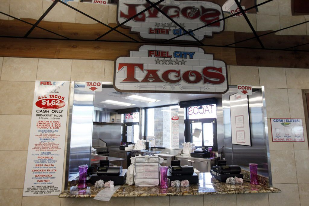 The taco shop inside the new Fuel City gas station, on Wednesday, Sept. 23, 2015 in Mesquite. Ben Torres/Special Contributor
