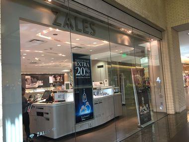 Zales store at NorthPark Center in Dallas.