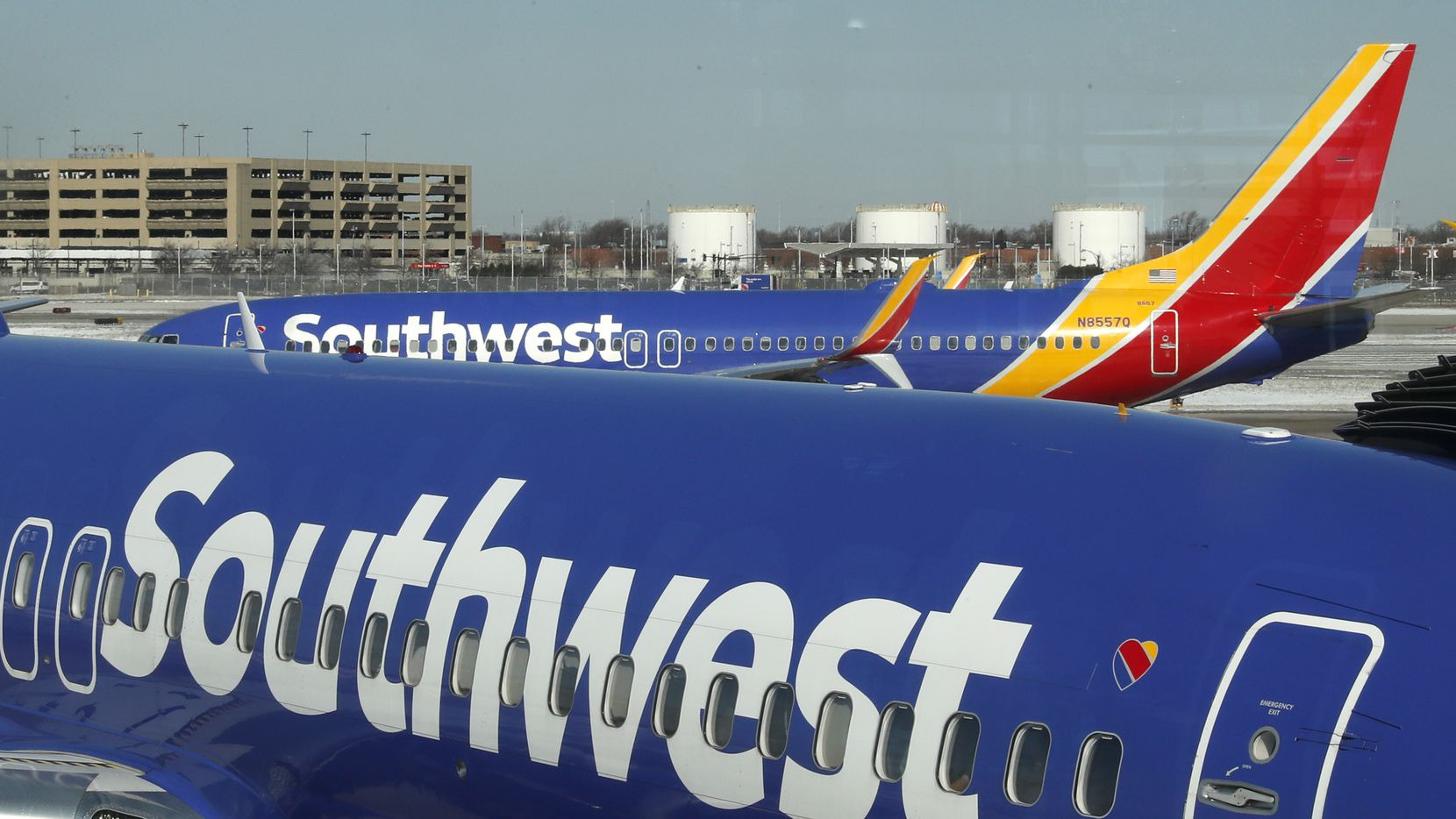 An inspection turned up a 12-inch crack in the skin of a Southwest Airlines plane's crown behind the cockpit. Airlines are required to inspect that area every 1,500 flights.