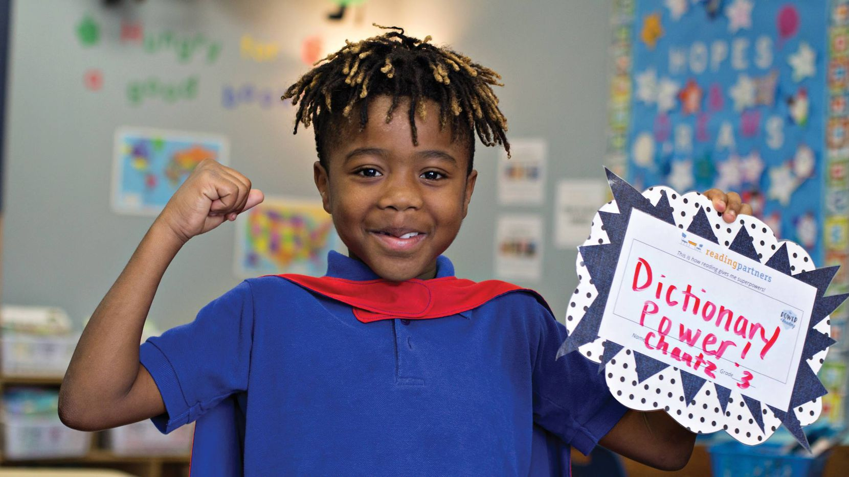 Reading Partners has been helping low-income students in Dallas and Fort Worth ISDs become better readers since 2012.