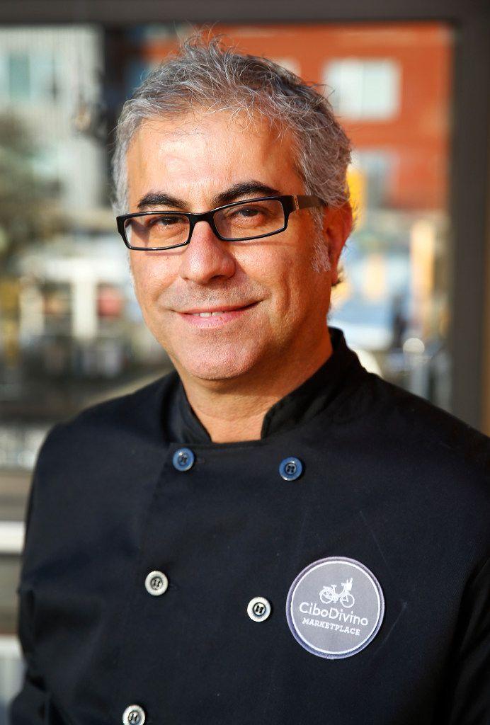 Chef Daniele Puleo at CiboDivino Restaurant & Marketplace