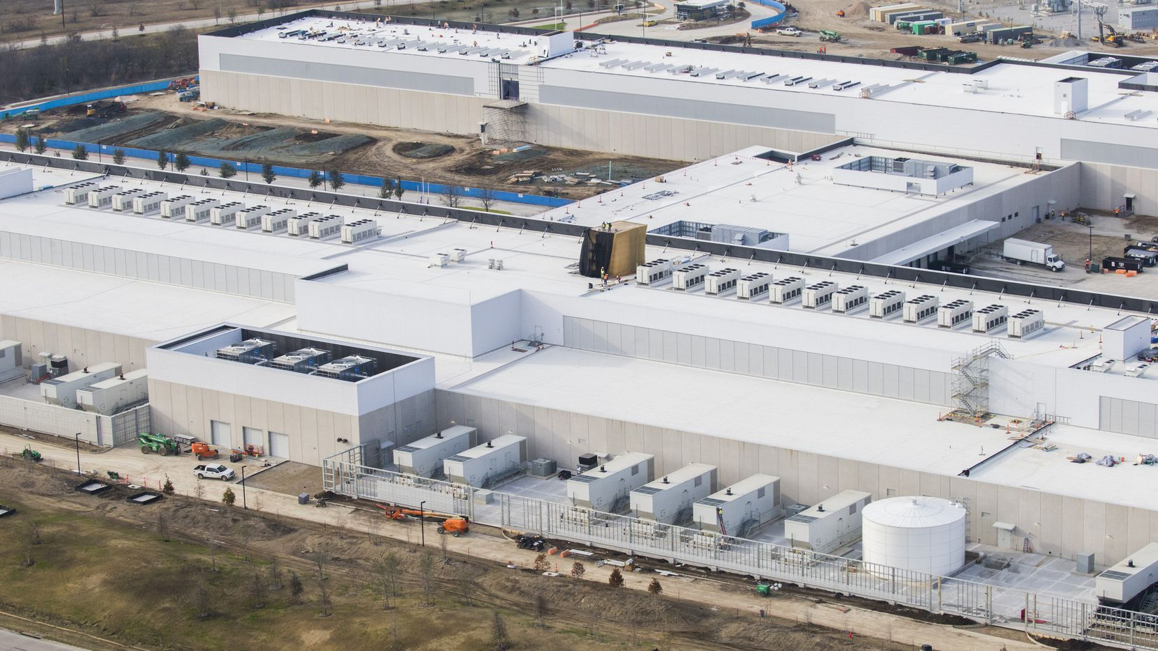 The new Facebook Data Center in North Fort Worth is expected to eventually be valued at more than $1 billion.