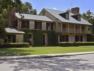 The house at 3805 McFarlin Blvd. was designed by David Williams for University Park Mayor Elbert Williams.
