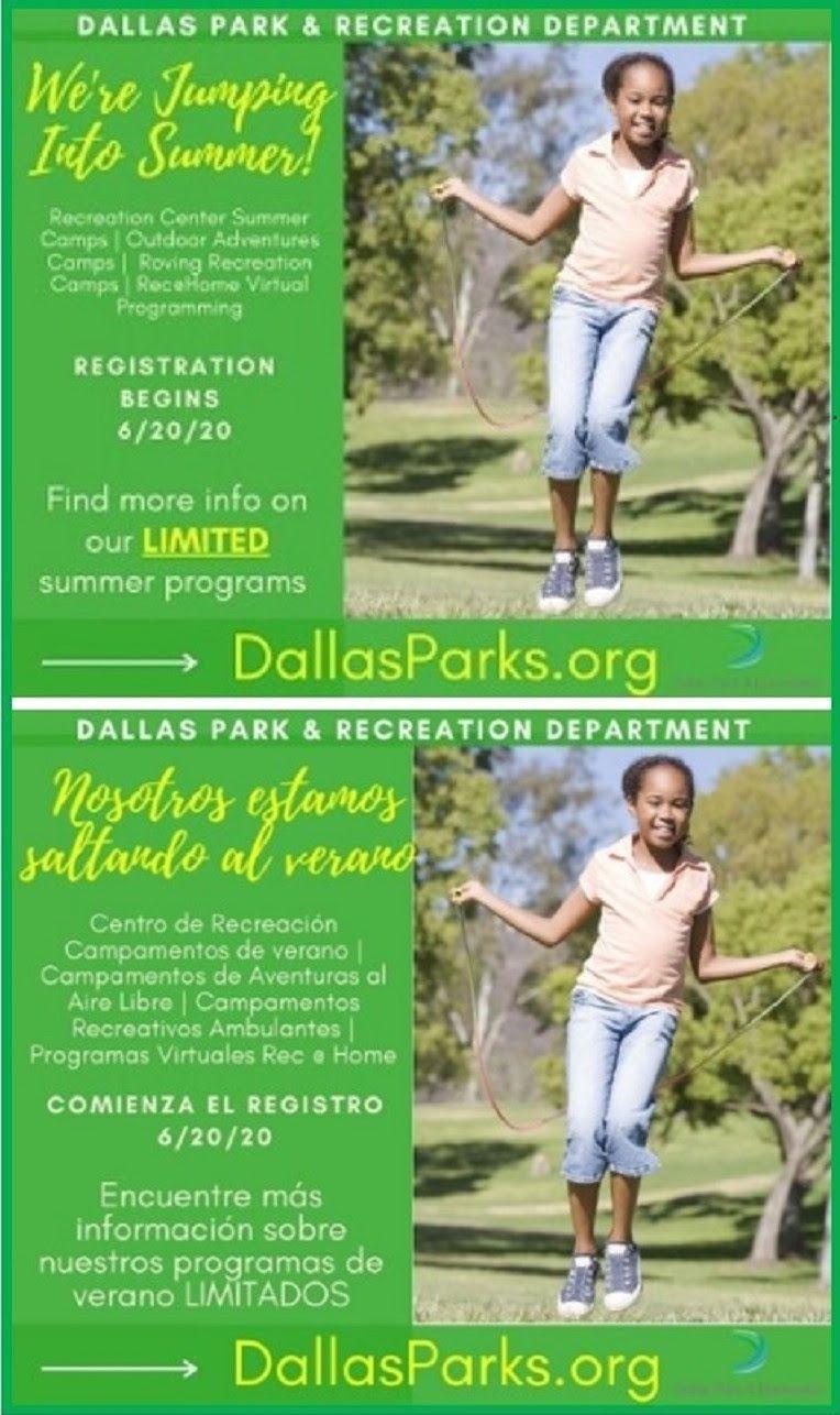 Cortesía del Departamento de Parques y Recreación de Dallas.