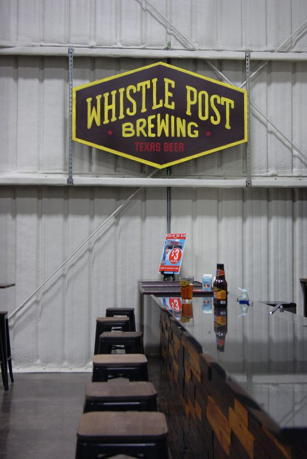 Whistle Post Brewing's taproom will be open on weekends at first and expand hours based on demand.