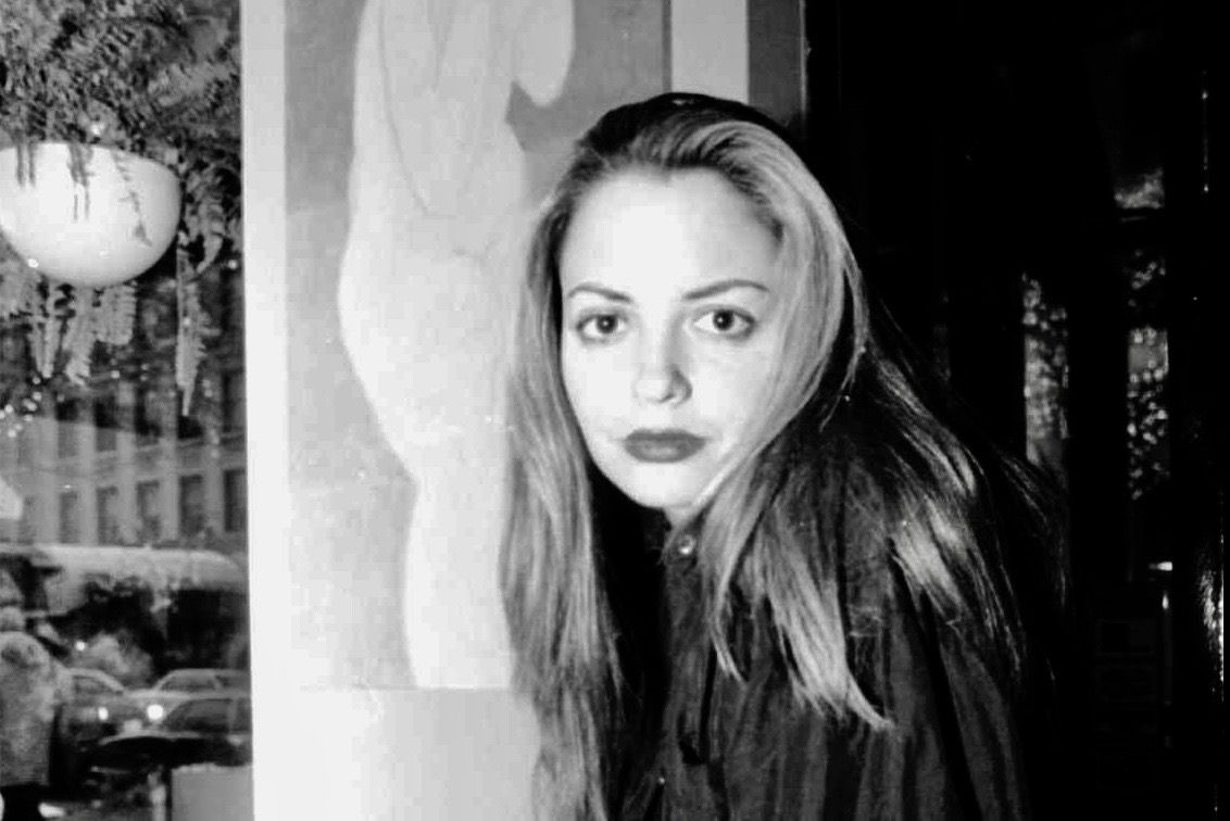 Elizabeth Wurtzel, 27,  author of 'Prozac Nation: Young and depressed in America,' at the 3rd Coast on Delware, a Chicago coffee bar.