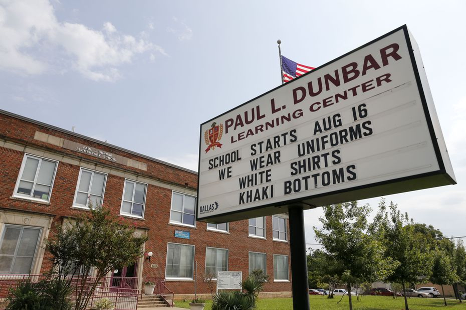 """When Paul L. Dunbar Learning Center joined ACE, school leaders had a hard time recruiting enough effective teachers. If you're coming from an A-rated campus to one that's close to failing, """"are you going to accept that challenge or not?"""" principal Alpher Garrett-Jones asked."""