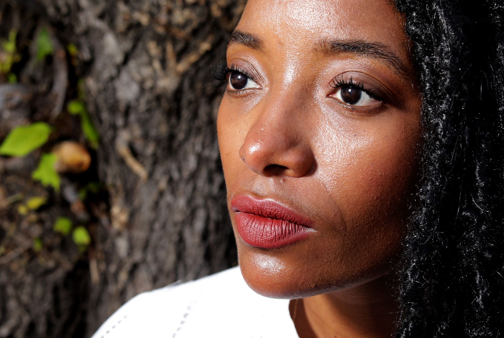 """Amber Sims says that out of this """"year of discomfort"""" has grown an even greater desire to do anti-racism work and """"to think harder about what do I want my impact in the world to be?"""""""