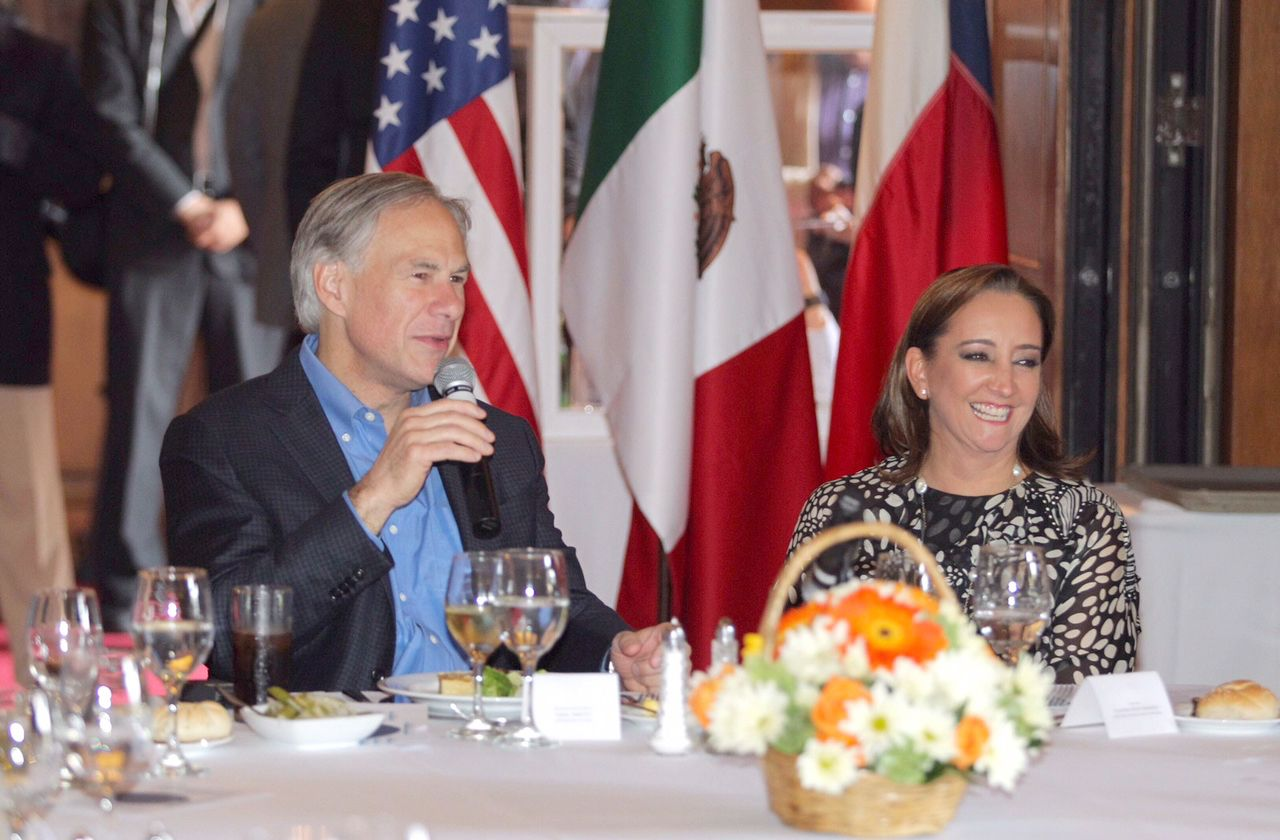 In a legislative session review with reporters on Wednesday, Gov. Greg Abbott said he would travel around the U.S. and abroad to close economic development deals.